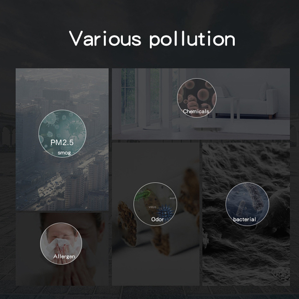 EHP005H13 STORM Pollenfilter Hepa Ozon Aktivkohle NEU